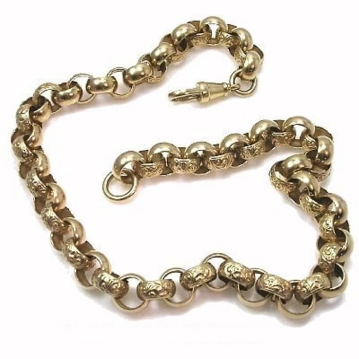 mens-gold-belcher-chain-22-inch ml